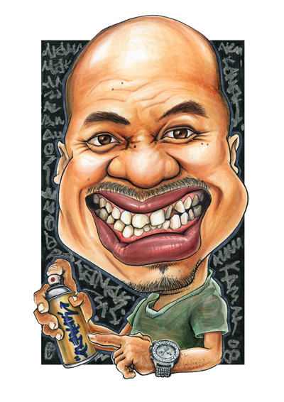 Kamal caricatures himself with mild extremity on the teeth formation