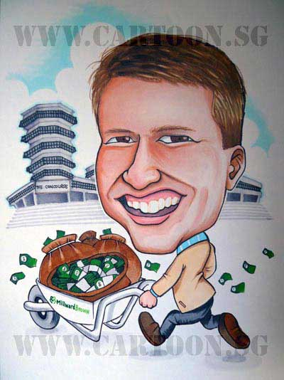 MilwardBrown Caricature for Boss