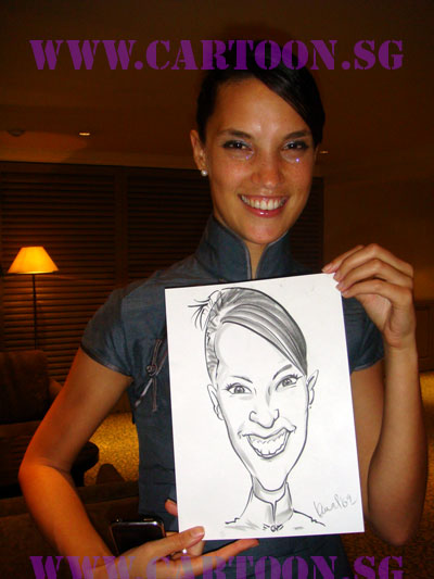 event-caricatures-artist-singapore