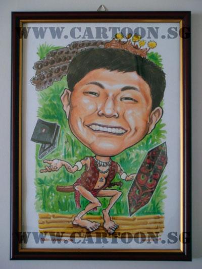 caricature-nokia-serawak