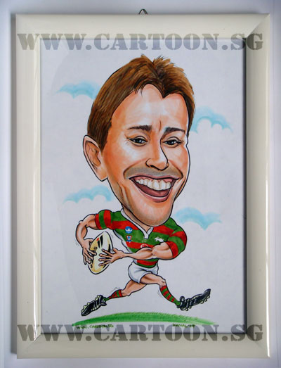 caricature-rugby-sports-singapore