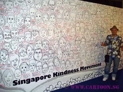 Singapore-Caricature-Event-Entertainment