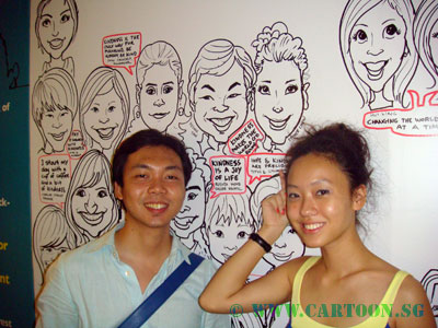 Singapore-Caricature-Event-Volunteer