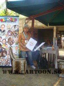 caricature-singapore-zoo-australian-outback-1