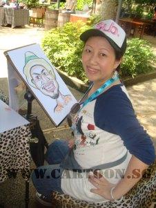 caricature-singapore-zoo-australian-outback-2