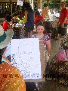 caricature-singapore-zoo-australian-outback-3