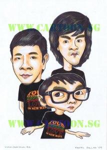 BK-studio-Electro-Tshirt-Caricature