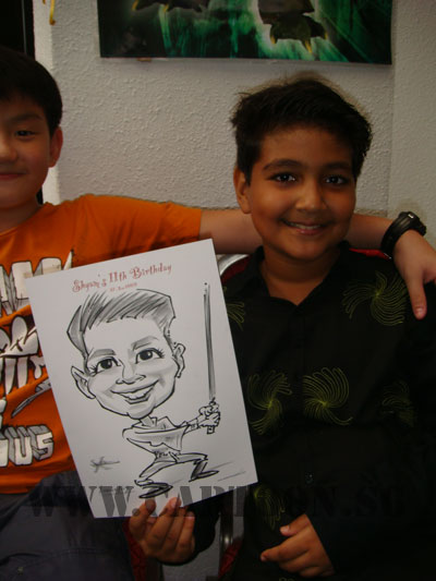birthday-caricature-party-1