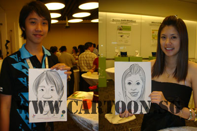 caricature-event-starhub-2