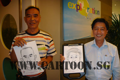 caricature-event-starhub-3