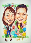 21st Birthday Caricature