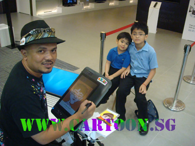 Sony Pictures Entertainment Singapore on Caricatures By Singapore Artists For Gifts And Events Entertainment
