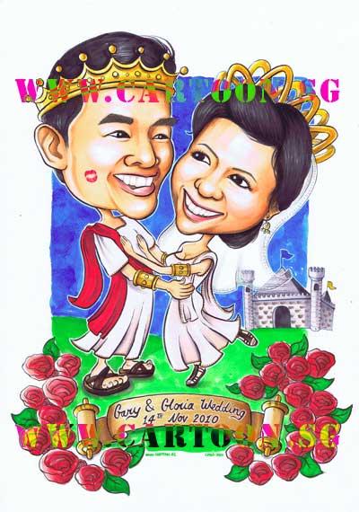 Gary-&-Gloria-Roman-Wedding