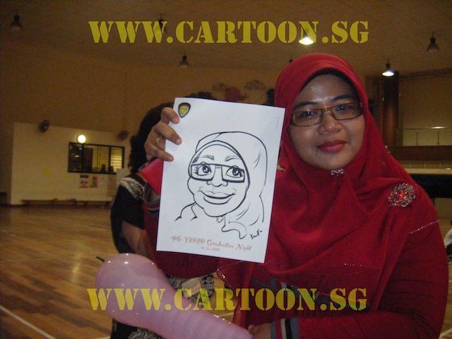 Live Caricature Drawing - Teachers