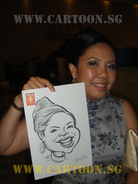 'Live' Drawing Caricature Event