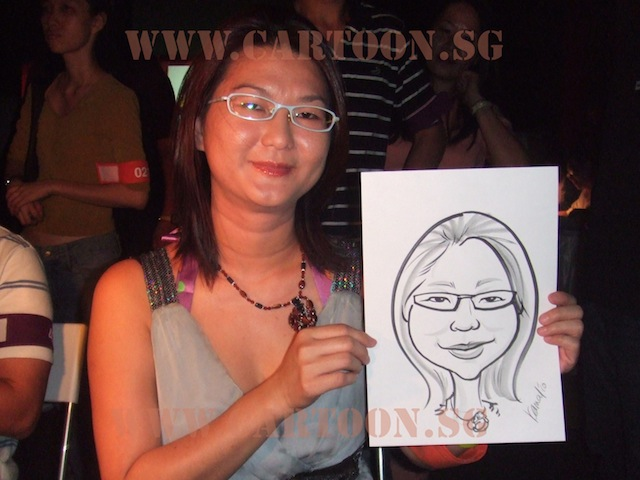 Caricature Live SDN First Anniversary Event @ SCAPE, Warehouse