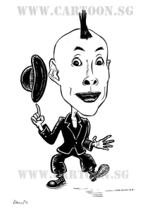 Cartoon Hiyro caricature