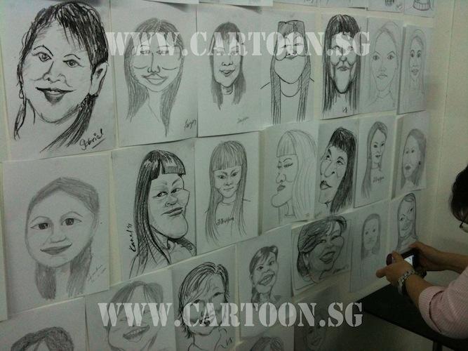 2nd Intake caricature class