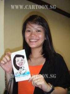 Changi Airport digital caricature gig