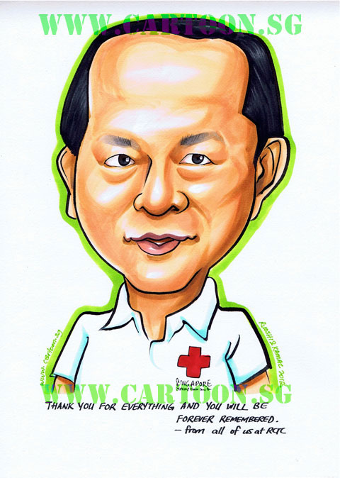 Rememberence Gift Caricature