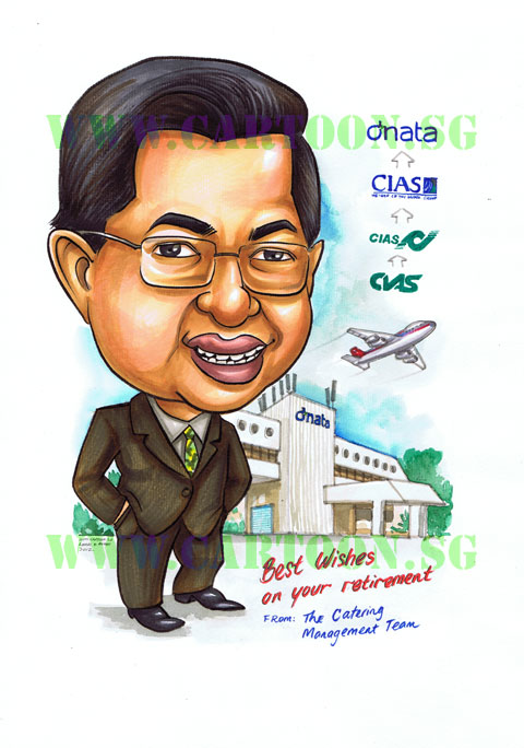 Caricature Gift, Cartoon Gift,Corporate Gift