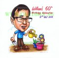 2012-09-03-Birthday-Souvenir-Caricature-Gift-Gardener-Plant