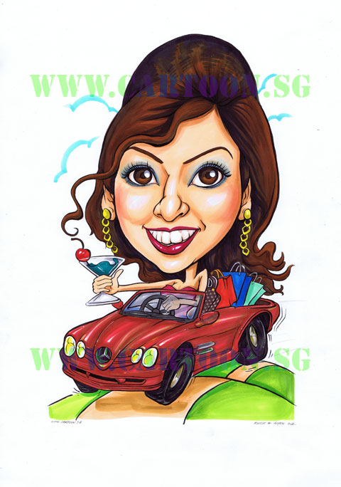 2012-10-16-Mercedes_Benz_Car_Luxury_gift_shopping_Pretty_Caricature_Singapore