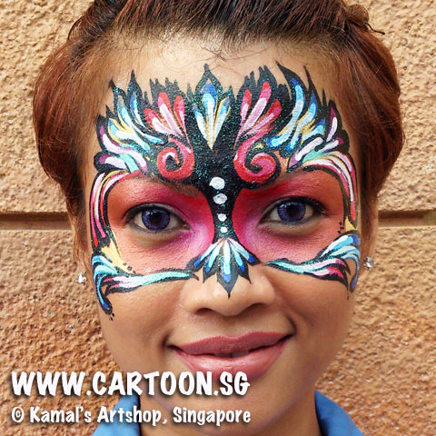 Book the our face painting team for your events, birthday parties or carnivals.